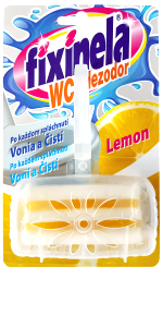 FIXINELA dezodor. WC Lemon 50g