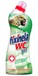 FIXINELA WC gel – citrus 750 ml